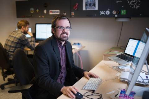 Sylvain Aubé, Project Manager, Laboratoire NT2 (UQAM)